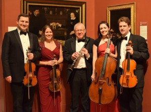 Quartet with Barry at DPG